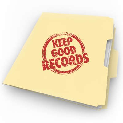 Keeping Thorough Records Can Help Your Business